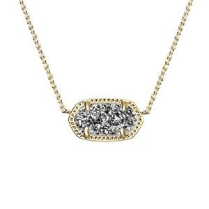 Kendra Scott Drusy Necklace with Matchings Earring